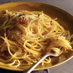 Carbonara (Guanciale, Egg, and Pecorino Romano)