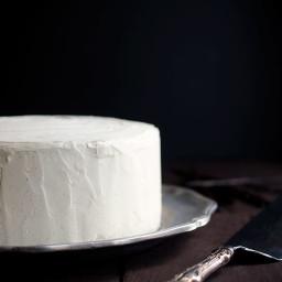 Cardamom Vanilla Bean Layer Cake