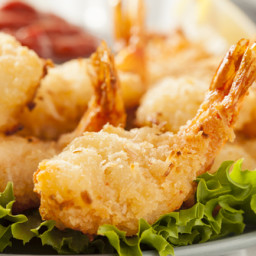 Caribbean Coconut Shrimp