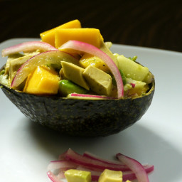 Caribbean Mango Salad