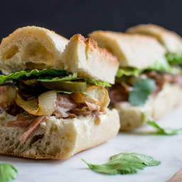 Caribbean Pork Roast Sliders