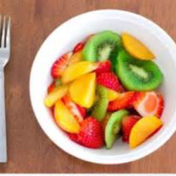 Carmen's breakfast Fruit salad
