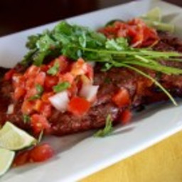 Carne Asada with Fresh Pico de Gallo
