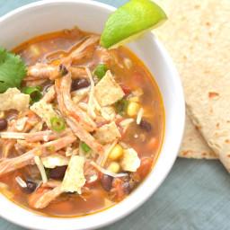 Carnitas Tortilla Soup