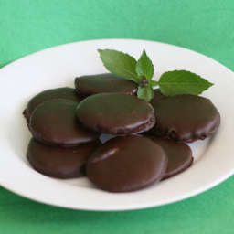 Carob Girl Scout Thin Mints