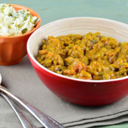Carol's Dal Curry (curried lentils)