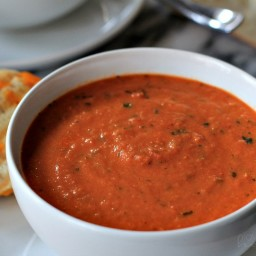 Carrie's Tomato-Basil Soup
