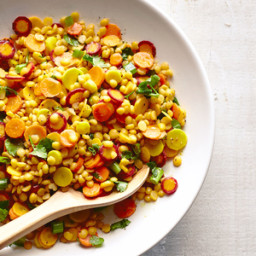 Carrot and Dal Salad