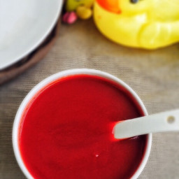 Carrot Beetroot Potato Puree for Babies