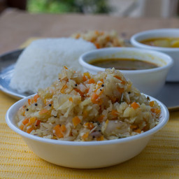 Carrot Cabbage Poriyal