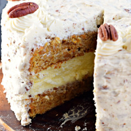 Carrot Cake Cheesecake Cake