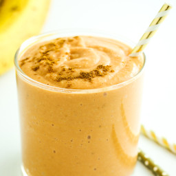 Carrot Cake Oatmeal Smoothie
