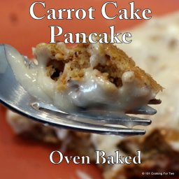 Carrot Cake Pancakes - Oven Baked