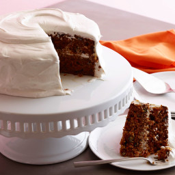 Carrot Cake with Marshmallow Fluff Cream Cheese Frosting