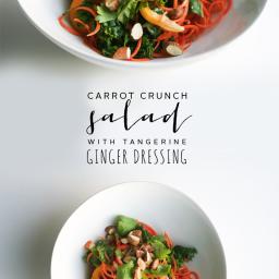 Carrot Crunch Salad