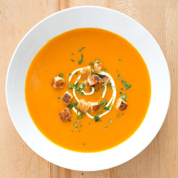 Carrot-Ginger Soup