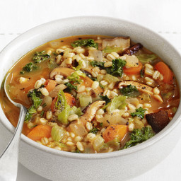 Carrot-Mushroom-Barley Stew