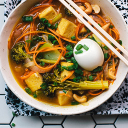 Carrot-Noodle Vegetarian Ramen