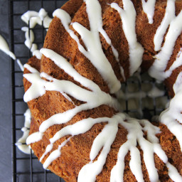 Carrot Pumpkin Bundt Cake