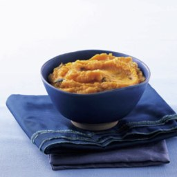 Carrot Purée with Kalamata Olives