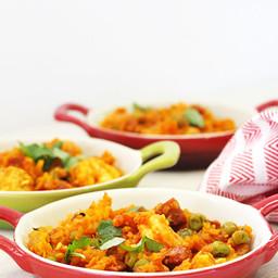 Carrot Rice Paella