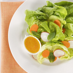 Carrot Salad with White Miso Dressing