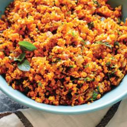 Carrot Tabbouleh