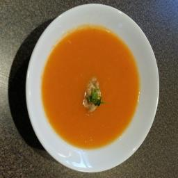 Carrot, Yam and Zucchini Soup