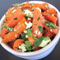 carrot  and  feta salad