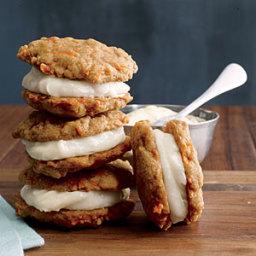Carrot Cake Sandwich Cookies