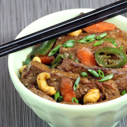 Cashew Beef Thai Stir Fry