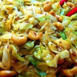 Cashew Cabbage