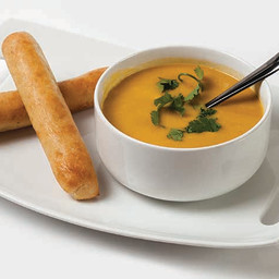 Cashew Carrot Ginger Soup