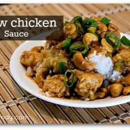 Cashew Chicken and Hoisin Sauce