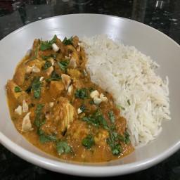 Cashew Chicken Curry