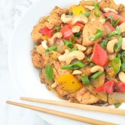 Cashew Chicken Stir-Fry