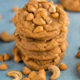 Cashew Butterscotch Pudding Cookies