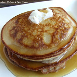 Cassava Flour + TWO Pancake Recipes!!! {Both Paleo and Nut Free}