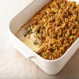 CASSEROLE, Chicken, Stuffing and Green Bean Casserole