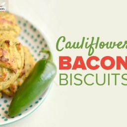 Cauliflower Bacon Biscuits Recipe