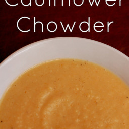 Cauliflower Chowder