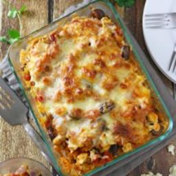 Cauliflower Fava Bean Lasagna
