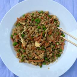 "Cauliflower Fried ""Rice"" (Paleo)"