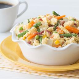 Cauliflower Fried Rice for Breakfast