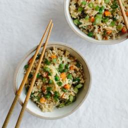 Cauliflower Fried Rice (gluten-free, paleo)