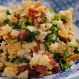 Cauliflower Fried Rice. Thanks Lenora!