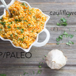 Cauliflower-Leek-Carrot Rice