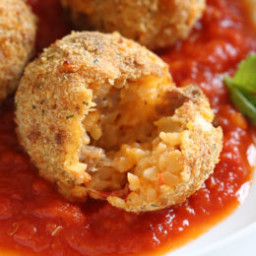 Cauliflower Rice Arancini