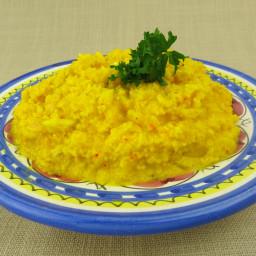 Cauliflower Risotto alla Milanese