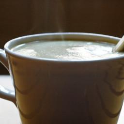 Cauliflower Soup with Turmeric and Hazelnuts Recipe